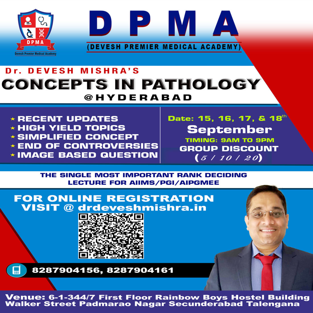 Dr  Devesh Mishra – Concepts in Pathology